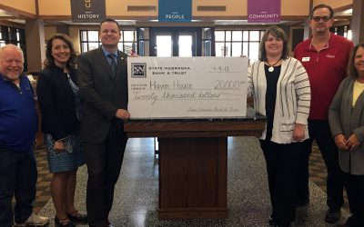 SNB Donates to Haven House