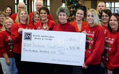 SNB Raises Money for the Wayne Food Pantry