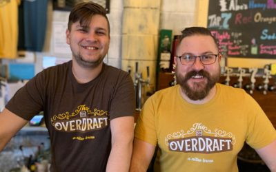 The Overdraft released at Johnnie Byrd Brewing