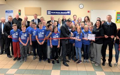 SNB Opens Blue Devil Branch at Wayne Elementary